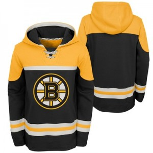 Boston Bruins Asset Pullover Hockey Hoodie - Youth