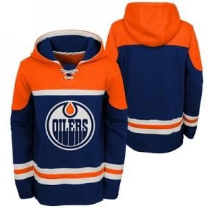 Edmonton Oilers Asset Pullover Hockey Hoodie - Youth