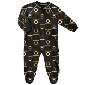 Boston Bruins Raglan AOP Sleeper Suit - Infant