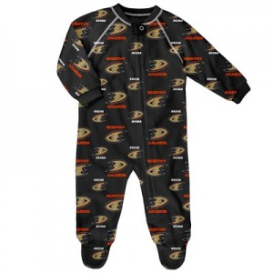 Anaheim Ducks Raglan AOP Sleeper Suit - Newborn