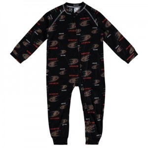 Anaheim Ducks Raglan AOP Sleeper Suit - Toddler