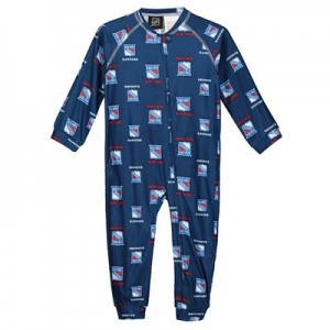New York Rangers Raglan AOP Sleeper Suit - Toddler