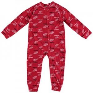 Detroit Red Wings Raglan AOP Sleeper Suit - Toddler