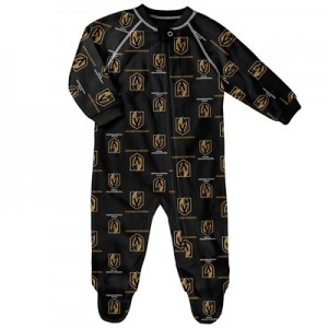 Vegas Golden Knights Raglan AOP Sleeper Suit - Newborn