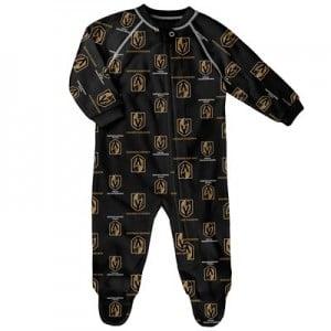 Vegas Golden Knights Raglan AOP Sleeper Suit - Newborn