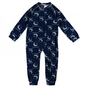 Vancouver Canucks Raglan AOP Sleeper Suit - Toddler