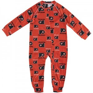 Philadelphia Flyers Raglan AOP Sleeper Suit - Toddler