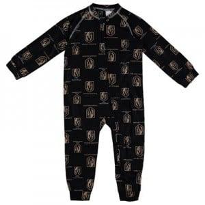 Vegas Golden Knights Raglan AOP Sleeper Suit - Toddler