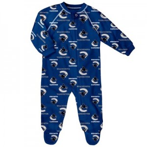 Vancouver Canucks Raglan AOP Sleeper Suit - Infant