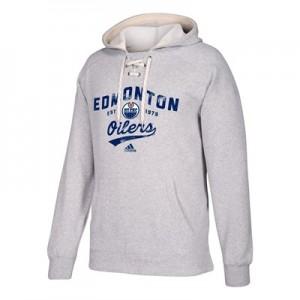 Edmonton Oilers adidas Hockey Hoodie - Mens