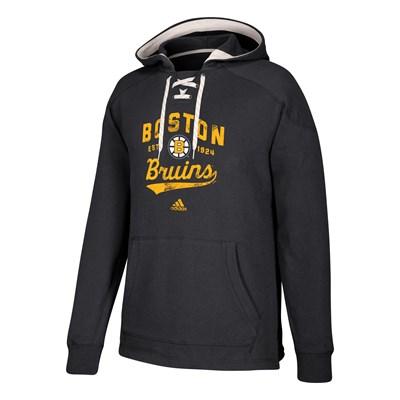 Boston Bruins adidas Hockey Hoodie - Mens