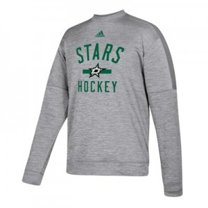 Dallas Stars adidas Fleece Climawarm Crew - Mens
