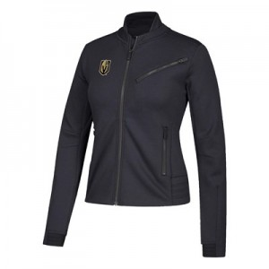 Vegas Golden Knights adidas Moto Jacket - Womens
