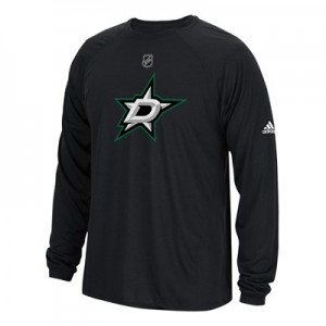Dallas Stars adidas Long Sleeve Climalite T-Shirt - Mens