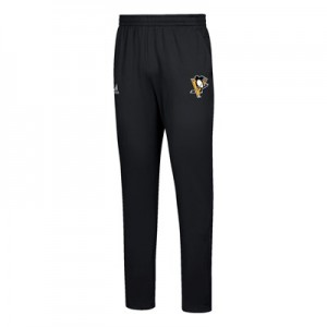 Pittsburgh Penguins adidas Team Issue Fleece Tapered Pant - Mens