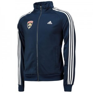 Florida Panthers adidas 3 Stripes Track Jacket - Mens