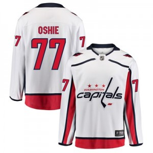 Washington Capitals Fanatics Branded Away Breakaway Jersey - T. J. Oshie - Mens