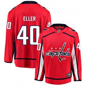 Washington Capitals Fanatics Branded Home Breakaway Jersey - Lars Eller - Mens