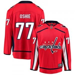 Washington Capitals Fanatics Branded Home Breakaway Jersey - T. J. Oshie - Mens