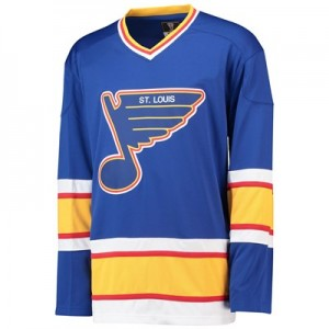 St. Louis Blues Fanatics Branded Heritage Breakaway Jersey - 1989-1998 - Mens