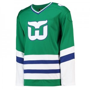 Hartford Whalers Fanatics Branded Whaler's Night Breakaway Jersey - Mens