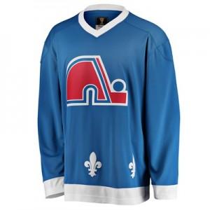 Quebec Nordiques Fanatics Branded Heritage Breakaway Jersey - 1985-1995 - Mens