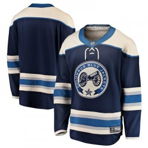 Columbus Blue Jackets Fanatics Branded Alternate Breakaway Jersey - Mens