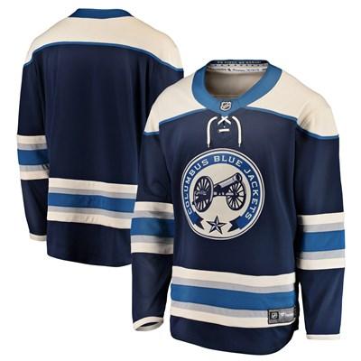 Columbus Blue Jackets Fanatics Branded Alternate Breakaway Jersey - Mens