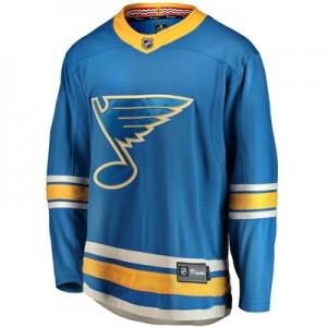 St. Louis Blues Fanatics Branded Alternate Breakaway Jersey - Mens