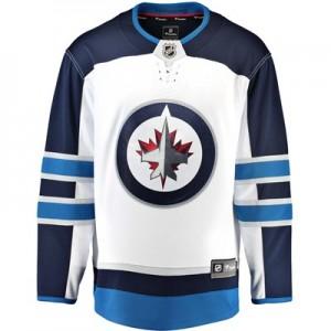 Winnipeg Jets Fanatics Branded Away Breakaway Jersey - Mens