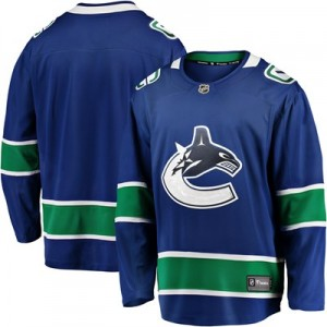 Vancouver Canucks Fanatics Branded Home Breakaway Jersey - Mens