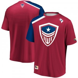 Washington Justice Overwatch League Home Jersey