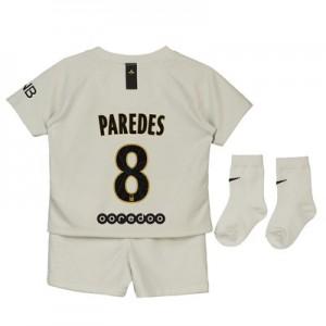 Paris Saint-Germain Away Stadium Kit 2018-19 - Infants with Paredes 8 printing