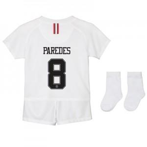 Paris Saint-Germain Third Away Stadium Kit 2018-19 - Infants with Paredes 8 printing