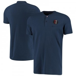 Paris Saint-Germain Authentic Grand Slam Polo - Navy