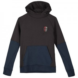 Paris Saint-Germain Fleece Hoodie - Grey - Kids