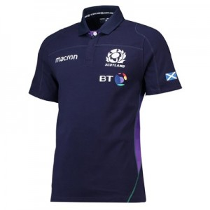 Scotland Rugby Home Cotton Replica Jersey 2018-19 - Mens