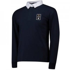 Guinness 6 Nations 19 Long Sleeved Rugby Jersey - Navy - Mens