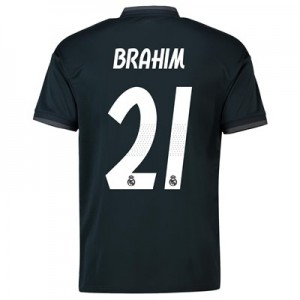 Real Madrid Away Shirt 2018-19 with Brahim 21 printing