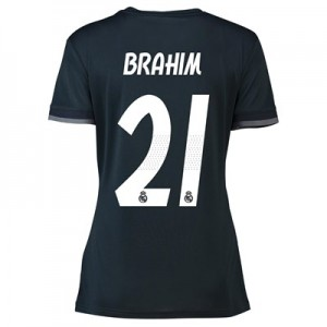 Real Madrid Away Shirt 2018-19 - Womens with Brahim 21 printing