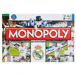 Real Madrid Monopoly - New Edition