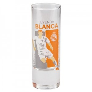 Real Madrid White Legend Tall Shot Glass