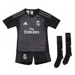 Real Madrid Home Goalkeeper Mini Kit 2018-19