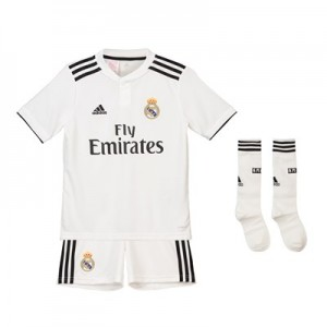 Real Madrid Home Kids Kit 2018-19