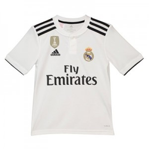 Real Madrid Home Shirt 2018-19 - Kids