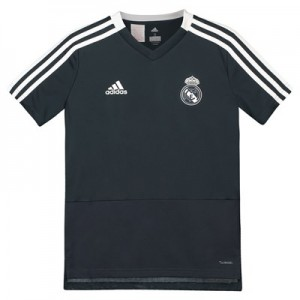 Real Madrid Training Jersey - Dark Grey - Kids