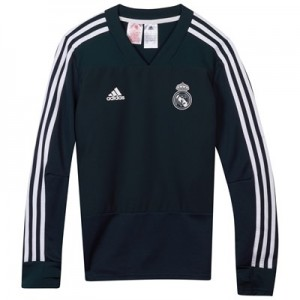 Real Madrid Training Top - Dark Grey - Kids