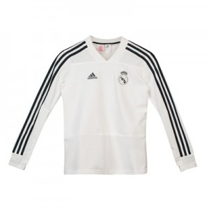 Real Madrid Training Top - White - Kids
