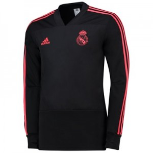 Real Madrid UCL Training Top - Black