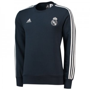 Real Madrid Training Sweat Top - Dark Grey